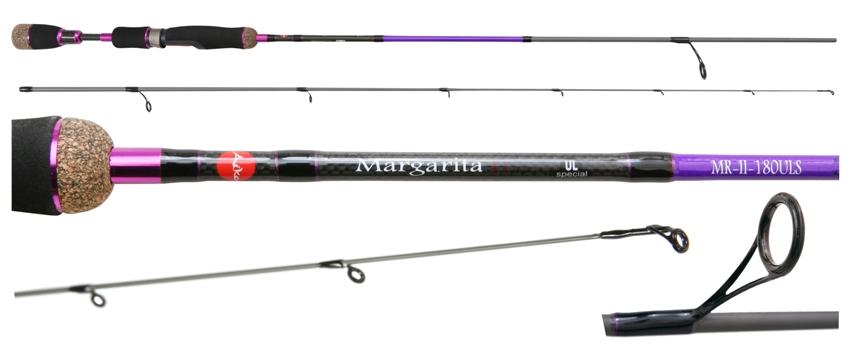 женская удочка для рыбалки розовая