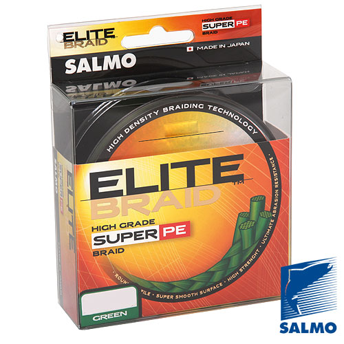Плетеный шнур Salmo ELITE BRAID Green 091/013